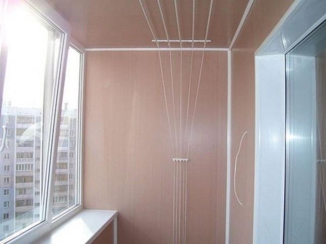 Внутренняя отделка балкона пвх своими руками 1106